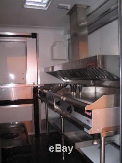 4ft Concession Trailer Or Food Truck Grease Exhaust Vent Hood With Fan