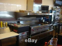 5ft Concession Trailer Or Food Truck Grease Exhaust Vent Hood Withfan