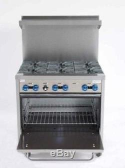 36 6burner gas range new model f330 - 6 Burner Gas Range