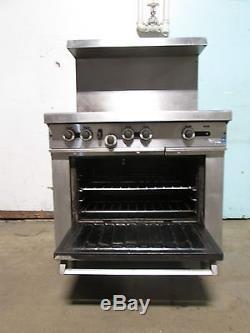 garland commercial h d natural gas 6 burners stove. Black Bedroom Furniture Sets. Home Design Ideas