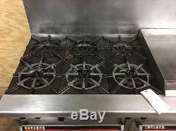 Garland G60 6g24rs 6 Burner 60 Gas Range With 24 Griddle