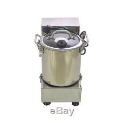 6L Edelstahl Tischkutter Küchenkutter Kutter Küchenmaschine Küchencutter