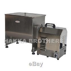 hakka 100 pound 50 liter capacity tank commercial electric meat mixer fme50b hakka 100 pound 50 liter capacity tank commercial electric meat mixer fme50b