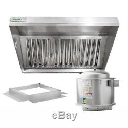 Hoodmart Type 1 Commercial Concession Trailer Hood 4\' X 30 Food ...