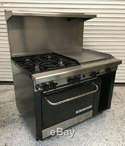 Montague Grizzly 48 Range Convection Oven 4 Open Burners