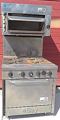 Southbend Natural Gas Range Salamander Oven Stove Kitchen Restaurant Watch  Video