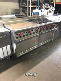 Wolf Range 6 Burners With Griddle 1 Convection Oven 1